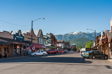 Whitefish Central Avenue iStock-54752946