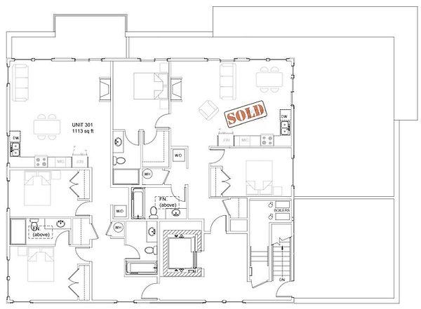 3rd Floor Plan Architect