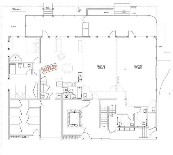 1st Floor Plan Architect