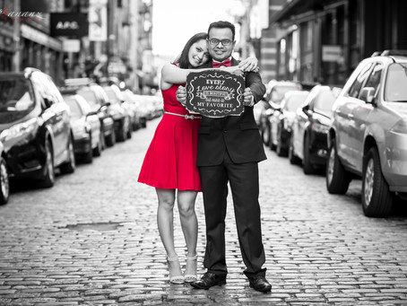 Defining a Love Story Through a lens - A Pre Wedding Shoot in Big Apple