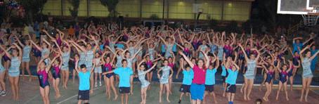 Πλούσιες σε θέαμα οι Γυμναστικές επιδείξεις του Μέγα Αλέξανδρου στο Άλσος Βεΐκου