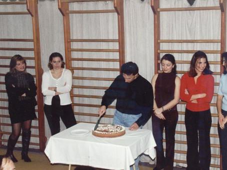 Kοπή πίτας  2003...