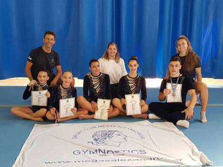 Εντυπωσιακή επιστροφή στους αγώνες - Πανελλήνιο Πρωτάθλημα Ακροβατικής Γυμναστικής - Ιούλιος 2021