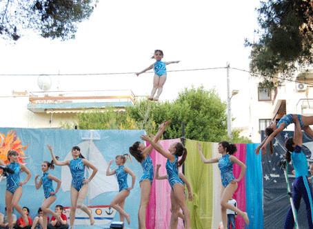 Εντυπωσίασαν οι αθλητές και οι αθλήτριες του Μέγα Αλέξανδρου στο 34ο Φεστιβάλ Παιδιού Δήμου Πεύκης