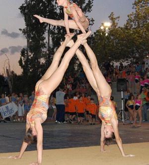 Εντυπωσιακές οι Γυμναστικές επιδείξεις των αθλητών και αθλητριών του Μέγα Αλέξανδρου Ιούνιος 2008