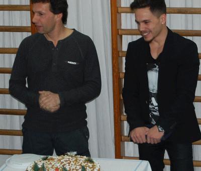 Εντυπωσίασαν και φέτος οι αθλητές του Μέγα Αλέξανδρου στην κοπή της Πρωτοχρονιάτικης Πίτας 2014