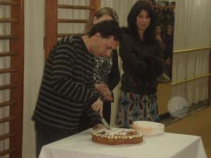 Κοπή πρωτοχρονιάτικης πίτας 2008