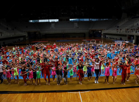 Μοναδική ατμόσφαιρα , πλούσιο θέαμα και ρεκόρ θεατών!! - Γυμναστικές επιδείξεις 2019