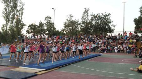 Εντυπωσιακές οι Γυμναστικές επιδείξεις του Αθλητικού Συλλόγου Μέγας Αλέξανδρος