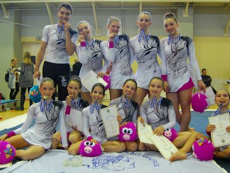 3 Χρυσά και 2 Αργυρά μετάλλια ο Μέγας Αλέξανδρος στο Πανελλήνιο Πρωτάθλημα Ακροβατικής