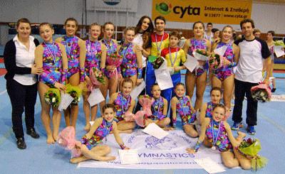 Όλοι οι αθλητές του Μέγα Αλέξανδρου κέρδισαν μετάλλια στο Πανελλήνιο Πρωτάθλημα Ακροβατικής 2013
