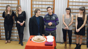 Πολύ θέαμα στην κοπή της Πρωτοχρονιάτικης πίτας του αθλητικού συλλόγου Μέγας Αλέξανδρος