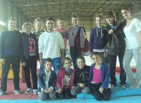 Ξεκίνησε την προετοιμασία της η Αγωνιστική μας ομάδα  για το Πανελλήνιο πρωτάθλημα Ακροβατικής 2012