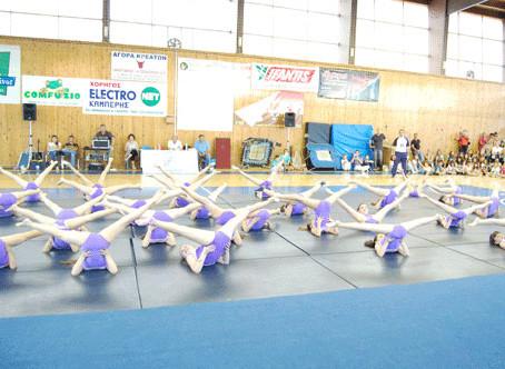 Γυμναστικές επιδείξεις 2011 από όλα τα παιδιά του Αθλητικού Συλλόγου Μέγας Αλέξανδρος