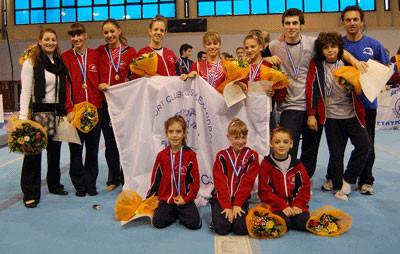 Πρωτοπόρος ο Αθλητικός Σύλλογος Μέγας Αλέξανδρος στο Πανελλήνιο πρωτάθλημα Ακροβατικής γυμναστικής