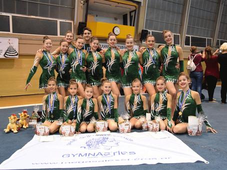 Πολλά μετάλλια στο Πανελλήνιο Πρωτάθλημα Ακροβατικής Γυμναστικής 2017