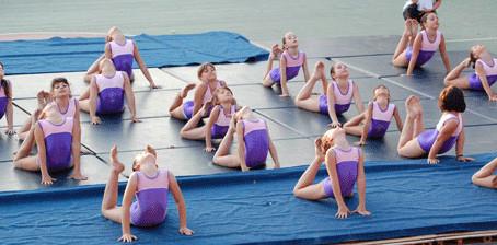 Ενθουσιασμένοι όλοι όσοι είδαν τις Γυμναστικές επιδείξεις του Α.Σ. Μέγας Αλέξανδρος καλοκαίρι 2012