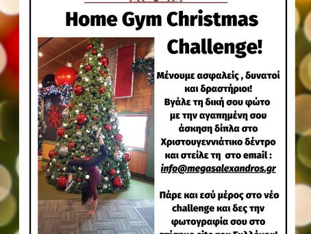 Home Gym Christmas Challenge !