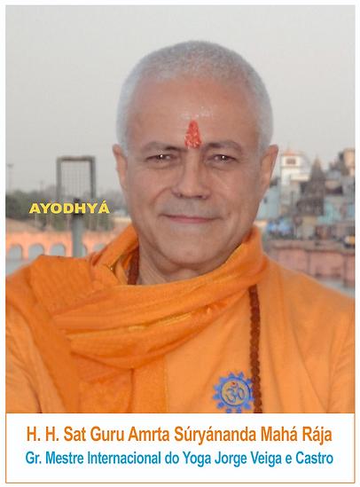 H.H. Jagat Guru Amrta Súryánanda Mahá Rája, Gr. Mestre Internacional do Yoga