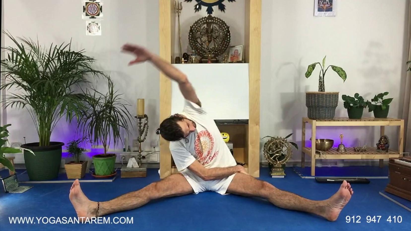 Aula de Yoga Nº17 - Prática final da tarde/noite