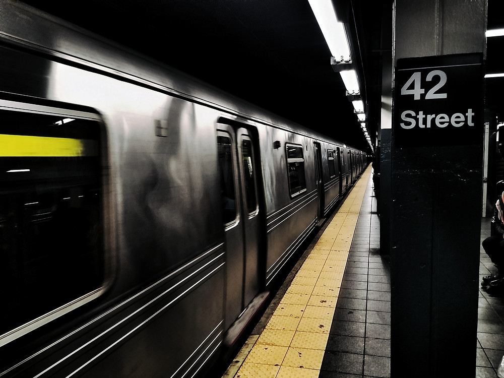 meditation in the subway