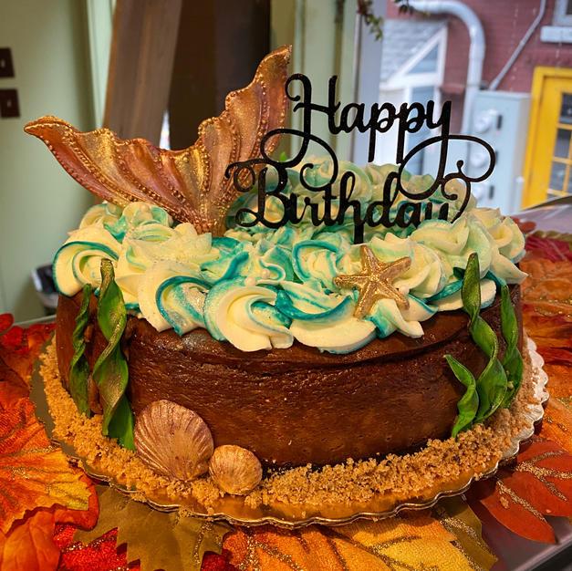 Custom chocolate cheesecake