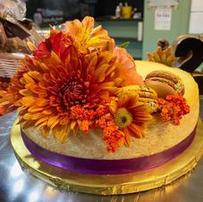 Custom plain cheesecake