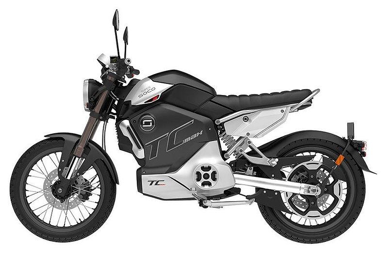 Super Soco TC-Max - 95 km/h