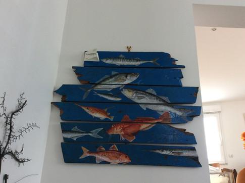 Bestiaire de poissons d'Atlantique