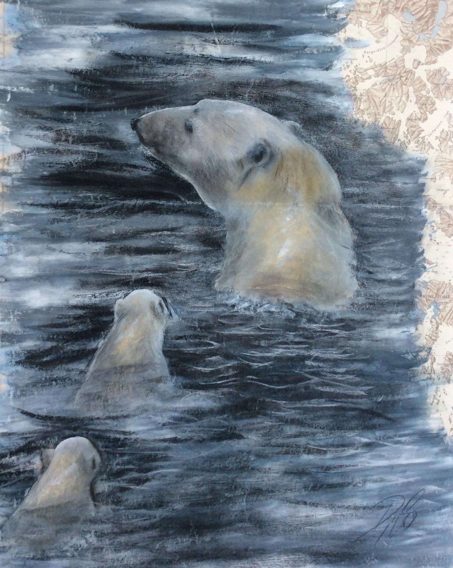 ourse polaire et ses petits
