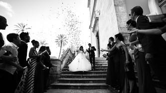 39-uscita-sposi-chiesa-lancio-riso-coria