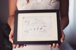 011-disegno-bambino-sposa-cornice-prepar
