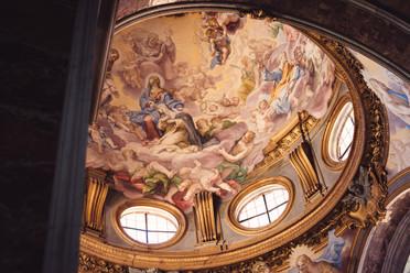 32-affresco-cupola-chiesa-ingresso-sposa
