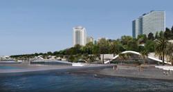 Реконструкция центральной набережной Сочи