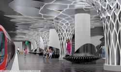 Метро в москве Amirov Architects