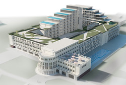 Реконструкция гостиницы Приморская Сочи