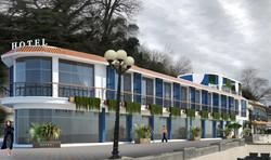 Отель на Центральной набережной Сочи