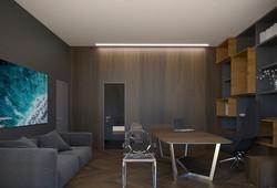 Интерьер спальни, кабинета, гостиной