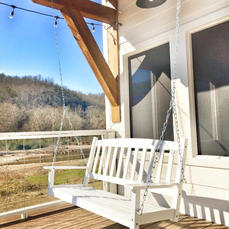 River Porch Swing