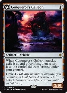 Conqueror's Galleon | Conqueror's Foothold