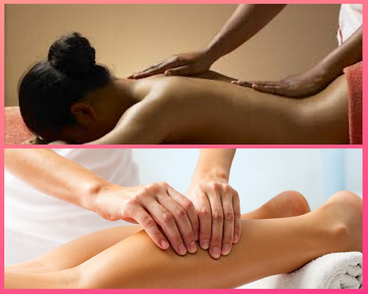 Abonnement Massage Dos, Jambes, Pieds 1H