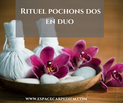 Massage duo dos aux Pochons