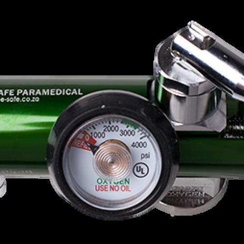 Oxygen regulator, pin index