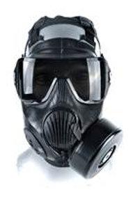 C50 CE Twinport Mask - Full mil-spec CBRN respirator