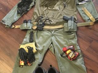 Equipment Breakdown: Rural Patrol kit level 1
