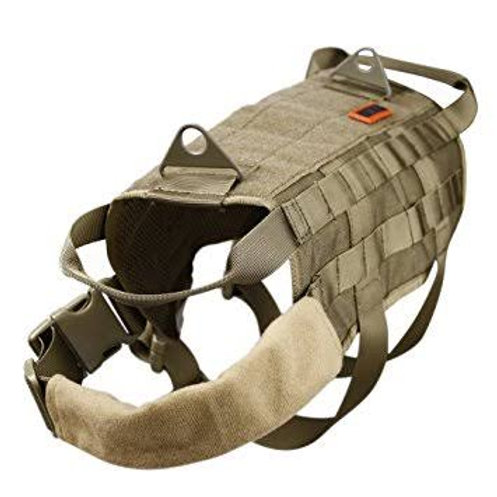 K9 harness with molle