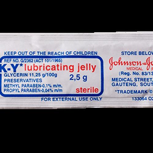 Lubrication jelly