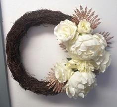 Wicker Wreath Floral Design