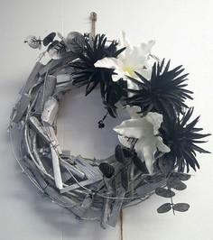 Wooden Wreath Floral Design