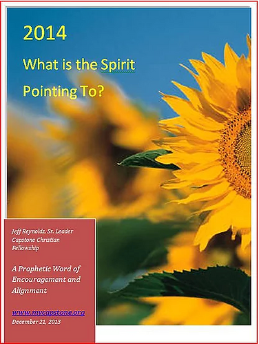 2014 What is the Spirit Pointing To?